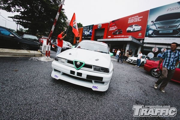 Alfa Romeo 155 SDAC, Malaysia. (Alfisti.my = previously known as AROCKV).