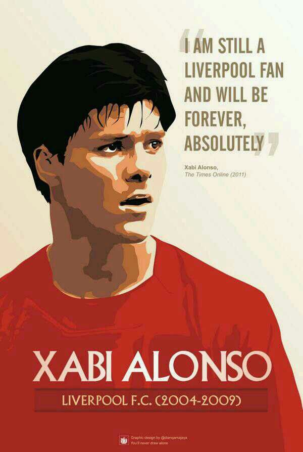 Xabi Alonso #LFC #legend