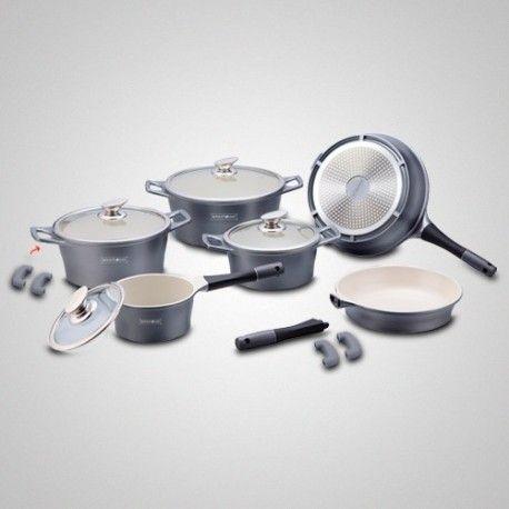 Batterie de cuisine de 14 pièces en Céramique rl-es1014c