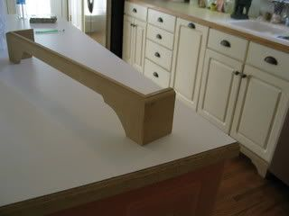 legs cut out and added to cabinets - Kitchen Cabinets With Legs