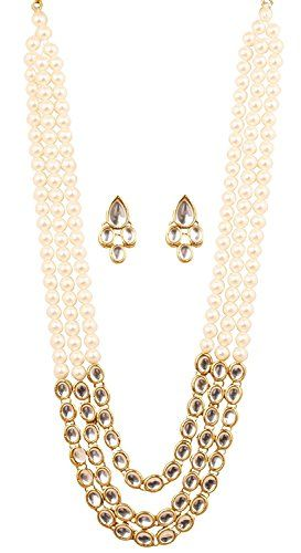 Elegant Indian Bollywood Traditional 3 Strands White Pear... https://www.amazon.com/dp/B0727QXDYW/ref=cm_sw_r_pi_dp_x_ukXazb8AWKXZE