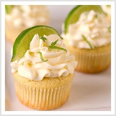 These were really good and easy.  I sprinkled a little cocktail salt on the frosting, it made it more margarita-y.