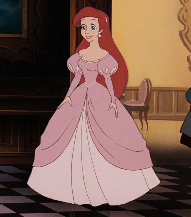"""This is princess """"casualwear."""" You know, like what you wear to Thursday night dinner at home. 