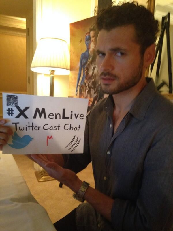 Things are heating up as @Adan Canto joins the #XMen Cast Twitter Chat! Tweet questions for #Sunspot now! #XMenLive