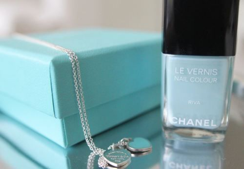 Chanel makes a Tiffany Blue polish.  That is all.