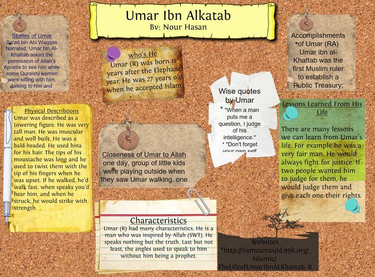 About Umar ibn Khattab