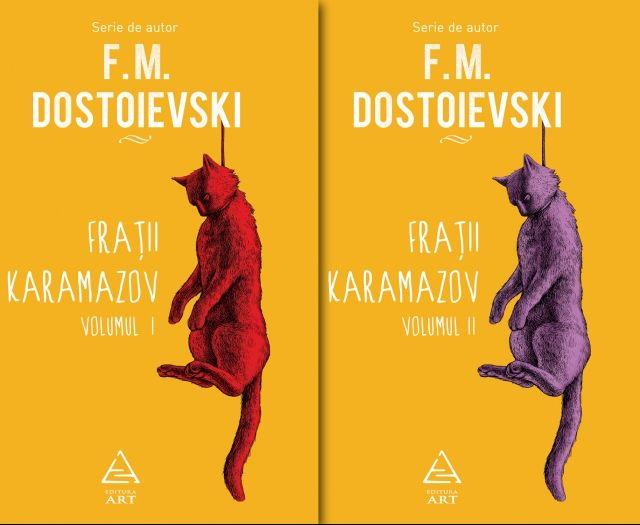 Frații Karamazov - două volume