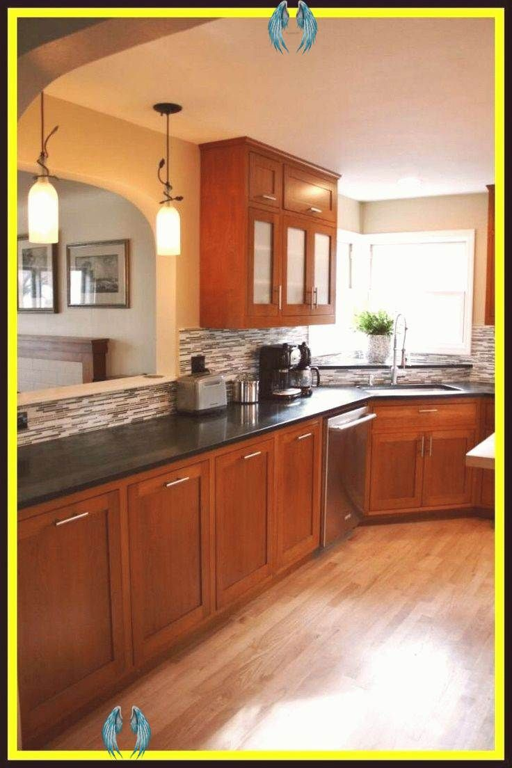 55 Reference Of Cherry Kitchen Cabinets With Light Wood Floors Cherry Kitchen Cab In 2020 Cherry Wood Kitchen Cabinets New Kitchen Cabinets Granite Countertops Kitchen
