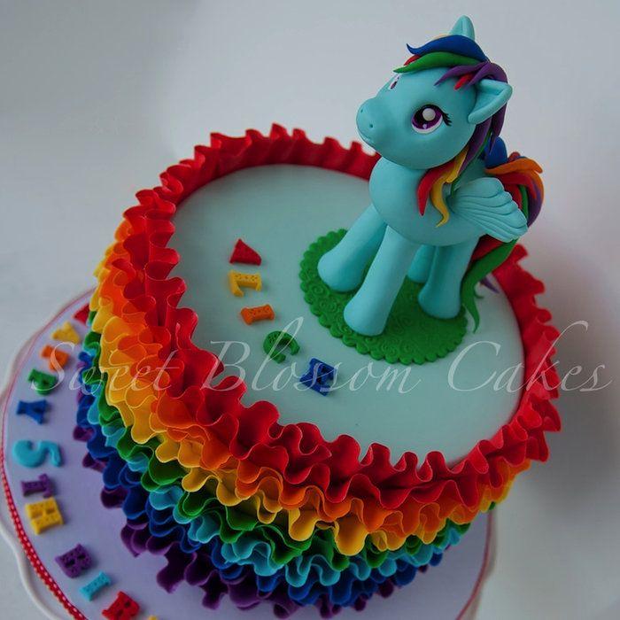 Rainbow dash cake - by TaHe4ka @ CakesDecor.com - cake decorating website