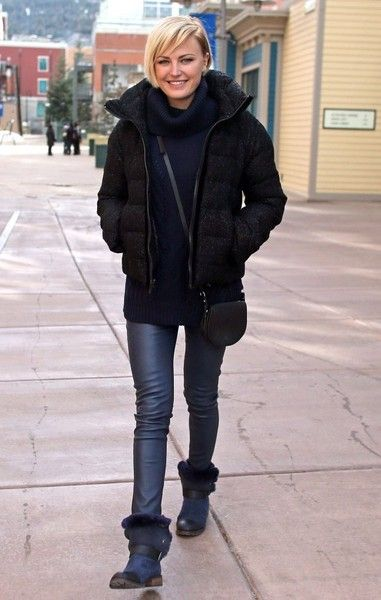 Malin Akerman Photos - Celebrities spotted out and about at the 2015 Sundance Film Festival in Park City, Utah on January 27, 2015.<br /> <br /> Pictured: Malin Akerman - Celebs at the Sundance Film Festival
