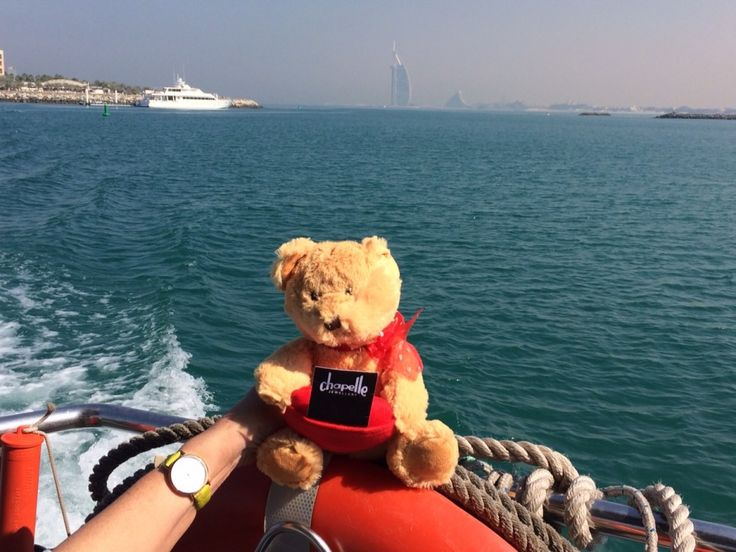Ted posing with the Burj Al Arab in the distance on his Dubai holiday #chapelleandme #chapelletedandme