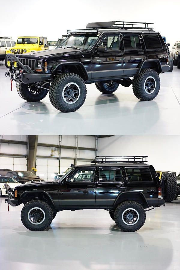 Restored 1999 Jeep Cherokee Xj Classic By Davis Autosports 1999 Jeep Cherokee Jeep Cherokee Xj Jeep Cherokee