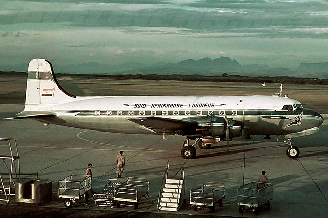 Douglas D.C.4 Skymaster by Etiennedup, via Flickr