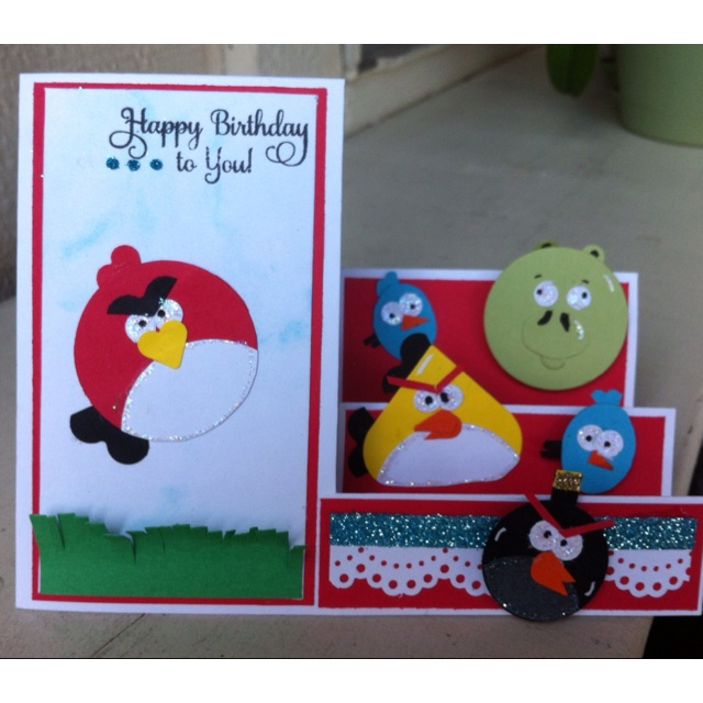 1000+ Images About Angry Birds Birthday On Pinterest