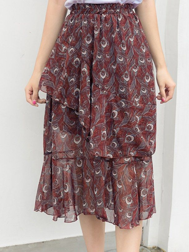 Casual Loosen Slim Mid Skirt _Mid-Length_Skirts_WHOLESALE CLOTHING_Wholesale clothing, Wholesale Clothes Online From China