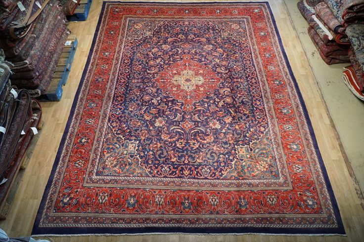 Persian Sarouk Exquisit Cheap Rugs For Sale Rug Handmade 10' x 13' Used