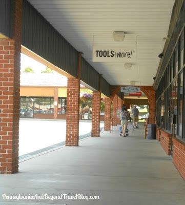 Shopping at the Rockvale Outlets in Lancaster Pennsylvania
