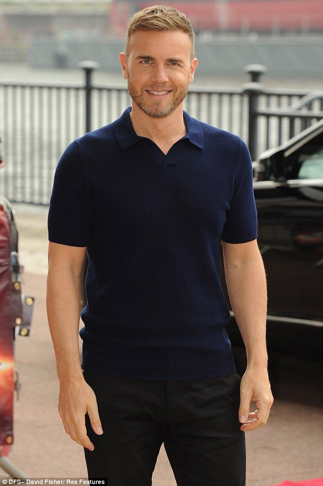 Gary Barlow... Looking HOT as usual!  X Factor 2013 : ExCel London - 19/06/13