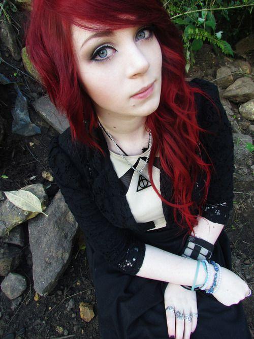 Pin Von Jessica Castor Auf Styles Hair Goth Hair Und
