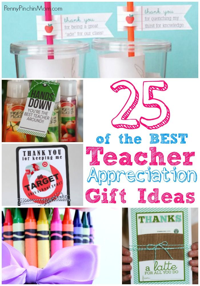 Classroom Thank You Ideas ~ Teacher appreciation gifts a collection of