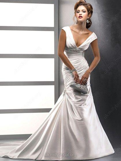 Prom style wedding dresses london