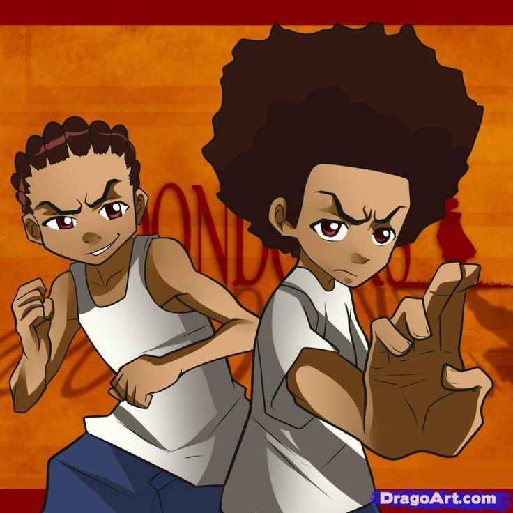 Boondocks -Riley and Huey,are so funny,the grandfather is a trip too!