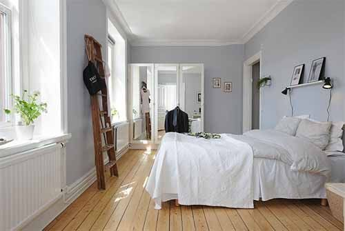 swedish bedroom. #swedish #scandinavian