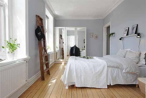 swedish bedroom. #swedish #scandinavian