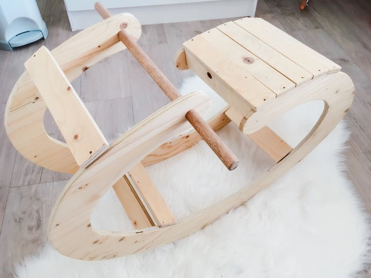 Rocking chair, Baby boy nursery room, Scandinavian style