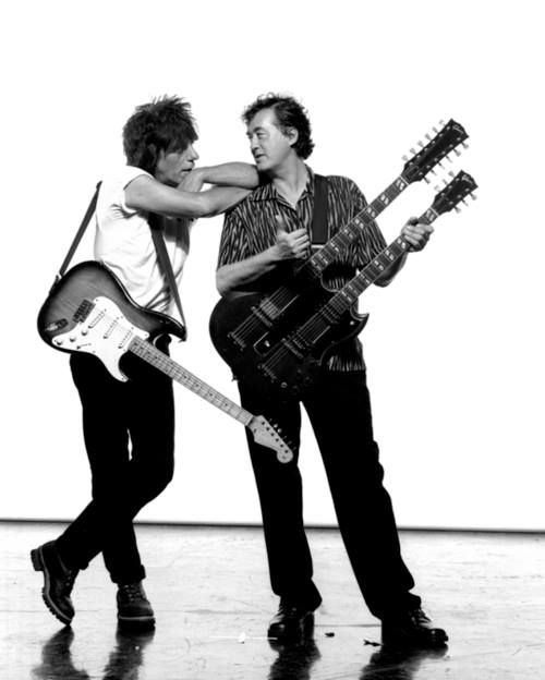 Jeff Beck and Jimmy Page