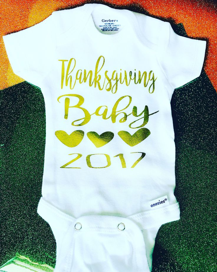 Thanksgiving Baby Coming Soon-Baby Announcement- Baby Shower Gift- New Mom- New Baby babysuit- bodysuit- Pregnancy november baby 2017 by giggletee on Etsy
