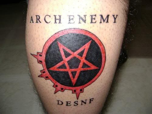 ARCH ENEMY tattoo. | Tattoo Ideas | Pinterest | Arches ...