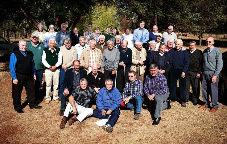 Rapport Diggers Rugby Klub reunion. Piet Greyling (92) oldest living Springbok  Foto Brendan Croft