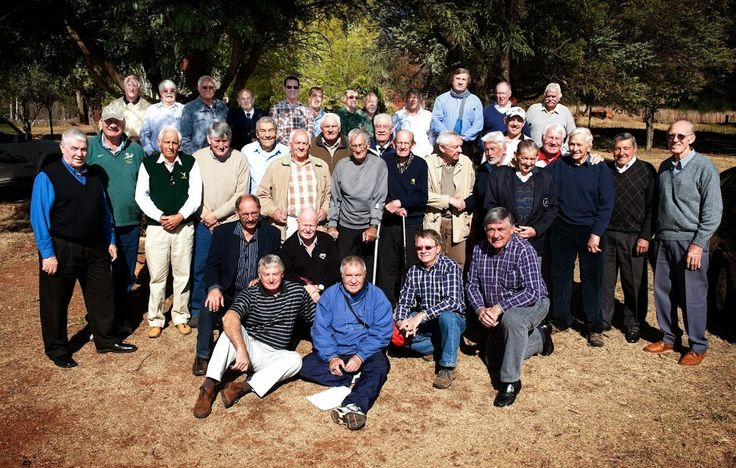Rapport Diggers Rugby Klub reunion. Piet Greyling (92) oldest living Springbok  Foto Brendan Croft