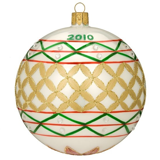 Annual Dated ball Ornament