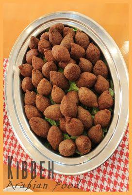Kibbeh - Arabian food Cooking Class (part 4) http://rumahmesaeed.blogspot.com/