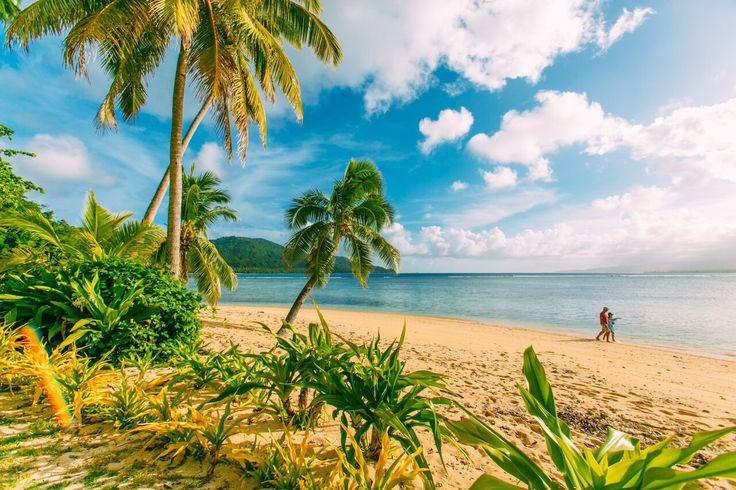 Qamea Fiji Main Beach