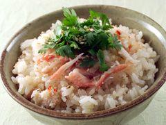 「かに缶の中華炊き込みご飯」の料理レシピ/完成イメージ
