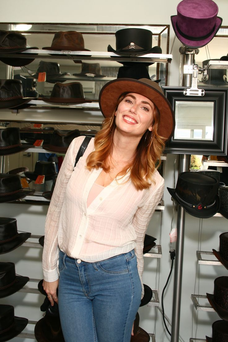 Diora Baird looking peachy in our hats
