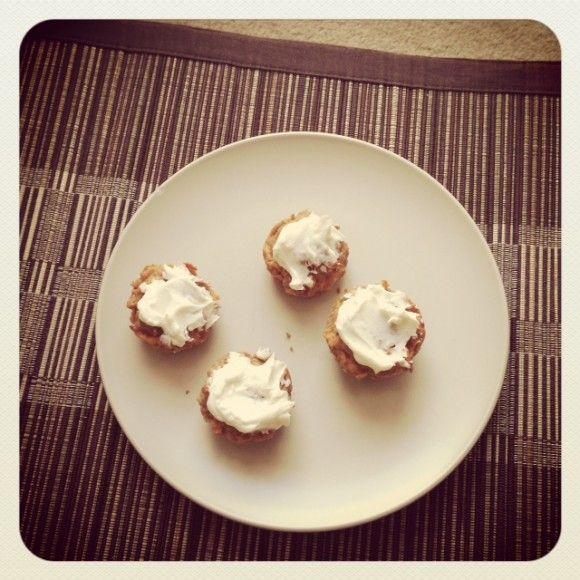 Carrot Cake Mini Muffins