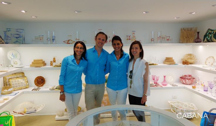 Helen White & Cabana staff