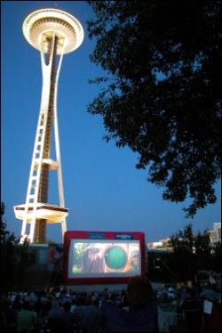 Seattle Outdoor Cinema