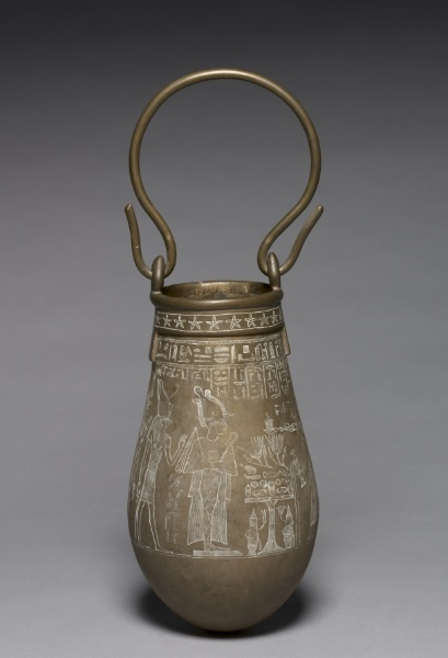 Decorated #Situla, 305-30 BC                                                #Egypt, #Ptolemaic Dynasty