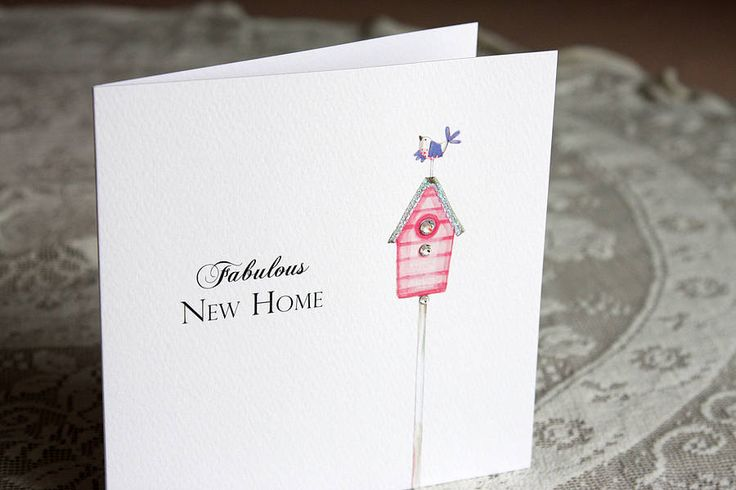 'Fabulous New Home' Card