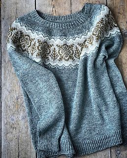 Ravelry: marionnichols' Silver Forest sweater