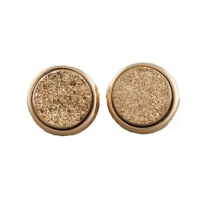 Round Gold Druzy Studs: Funky Jewelry, Clothing, Beautiful, Studs Earrings, Round Gold, Gold Druzy, Drusen Studs, Accessories, Dreams Closets
