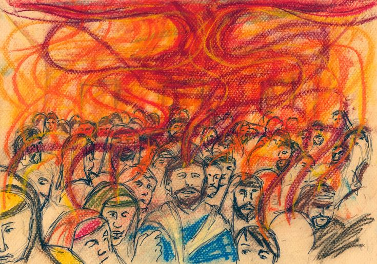 100 best images about art of the bible pentecost on