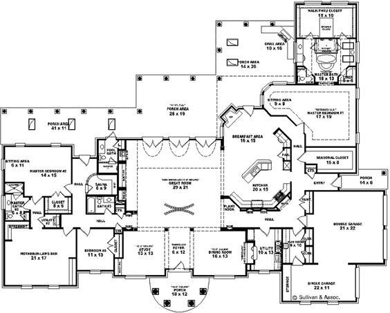 16 Best Master Suite Floor Plan Images On Pinterest Master Bathroom Floor Plans And House