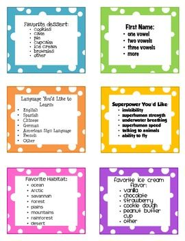 Freebie! Creative Ways to Line Up Your Class