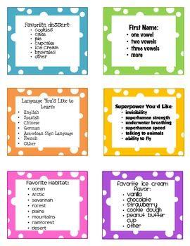 Freebie! Creative Ways to Line Up Your Class